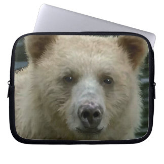 Rare Kermode Spirit Bear Wildlife Art Computer Sleeve