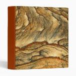 Rare landscape jasper closeup 3 ring binders