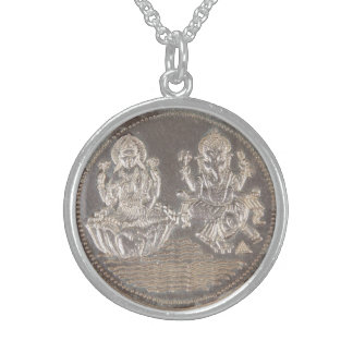 RARE LORD GANESH & LAKSHMI COIN LOCKET
