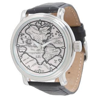 Rare Map Watch (Horologium 22301)