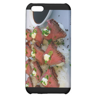 Rare Meat On Sushi Rice Gifts Collectibles iPhone 5C Cover