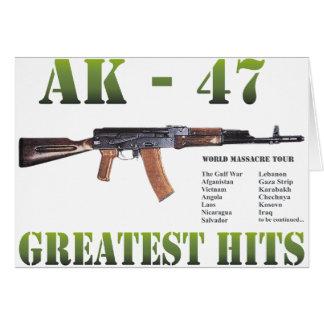 RARE NEW AK-47 KALASHNIKOV GUN CARD