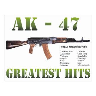 RARE NEW AK-47 KALASHNIKOV GUN POSTCARD
