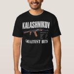 RARE NEW BLACK COTTON RUSSIAN AK-47 GUN T-SHIRT