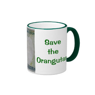 Rare Orangutan Money Mugs