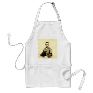 RARE President Abraham Lincoln STEREOVIEW VINTAGE Adult Apron