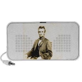 RARE President Abraham Lincoln STEREOVIEW VINTAGE Mini Speaker