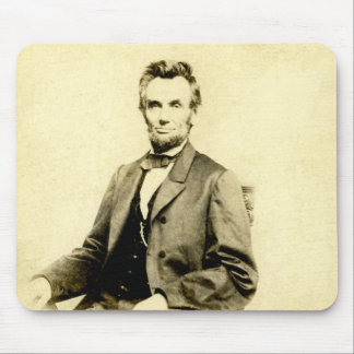 RARE President Abraham Lincoln STEREOVIEW VINTAGE Mouse Pad