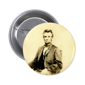 RARE President Abraham Lincoln STEREOVIEW VINTAGE Pinback Button