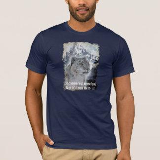 Rare Snow Leopard Endangered Species T-Shirt