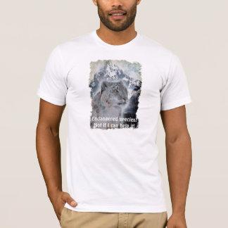 Rare Snow Leopard Wildlife Supporter Shirt