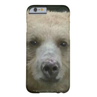 Rare Spirit Bear Face Wildlife Photo Art Portrait Barely There iPhone 6 Case
