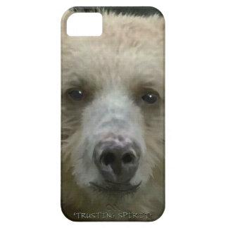 Rare Spirit Bear Face Wildlife Photo Art Portrait iPhone SE/5/5s Case