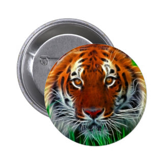 Rare Sumatran Tiger from Indonesia Pinback Button