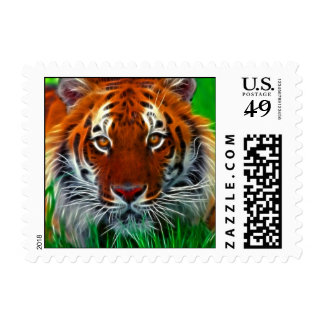 Rare Sumatran Tiger from Indonesia Postage Stamp