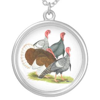 Rare Turkey Quartet Pendant