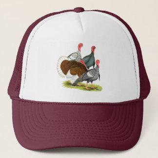 Rare Turkey Quartet Trucker Hat