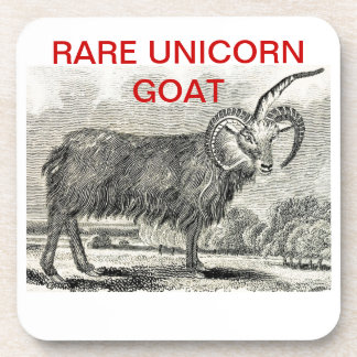 RARE UNICORN GOAT - Coasters