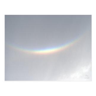 Rare Upside-down Smiling Rainbow, NJ Postcard
