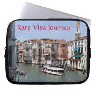 Rare Visa Journey Grand Canal Netbook case Computer Sleeve