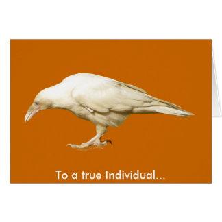 Rare White Raven ~ 2010 Card