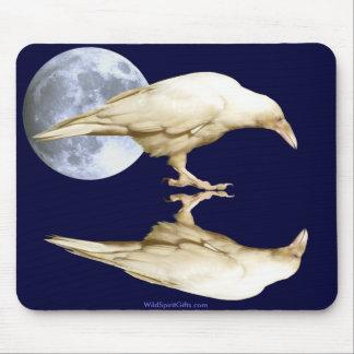 Rare White Raven ~ 2010 Mouse Pad