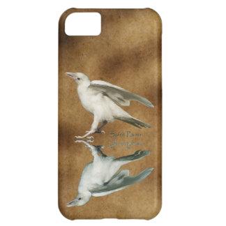 Rare White Raven Fantasy Photo Art Cover For iPhone 5C