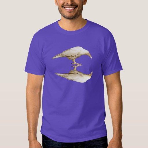 Rare White Raven Photo Men's T-Shirt