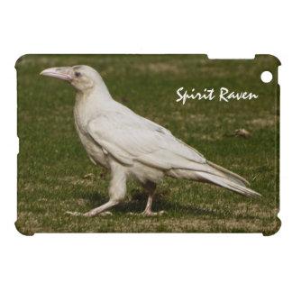 Rare White Raven Wildlife Photography iPad Mini Cover