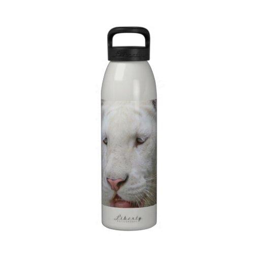 Rare White Tiger  Water Bottle