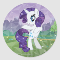 Rarity Classic Round Sticker