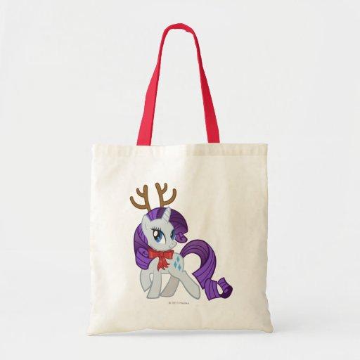 Rarity Reindeer Tote Bags