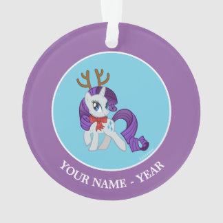 Rarity Reindeer Ornament