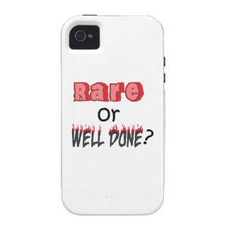 RARO O BIEN HECHA Case-Mate iPhone 4 CARCASA