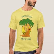 RAROTONGA BEACH DOG T-Shirt