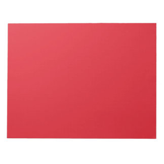Rarotonga Red-Hibiscus Red-Ruby Red Notepad