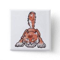 Rarr Polydactyl Kitty Button