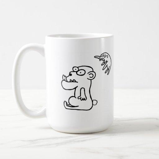 RARRRRR CLASSIC WHITE COFFEE MUG