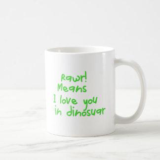 rarw coffee mug