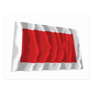 Ras al-Khaimah Waving Flag Postcard