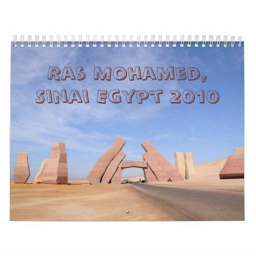 Ras Mohamed Nature Preserve Park, Sinai, Egypt Calendars