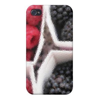 Rasberries and Blackberries Covers For iPhone 4