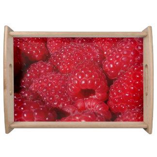 Rasberries Food Tray