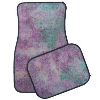 Rasberry Tulip Floor Mat