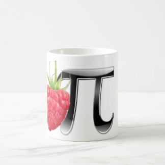 Rasbperry and Pi Symbol Coffee Mug
