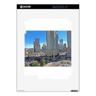 Rascacielos céntricos de Denver Colorado Calcomanía Para iPad 2