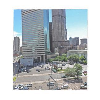 Rascacielos céntricos de Denver Colorado Libretas Para Notas