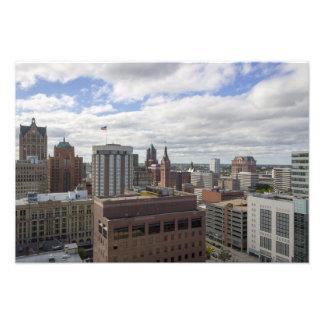 Rascacielos céntricos de Milwaukee Fotografía