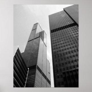 Rascacielos de Chicago Póster
