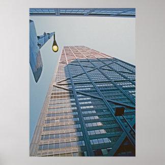 Rascacielos de Chicago Posters